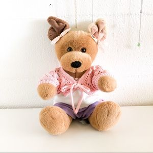 👑 Build a Bear Brown Dog 👑